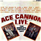 Cover image of Ace Cannon Live