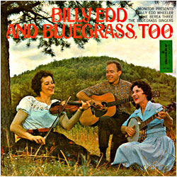 Cover image of Billy Edd And Bluegrass Too