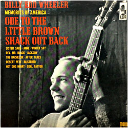 Image of random cover of Billy Edd Wheeler