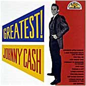 Cover image of Greatest Johnny Cash