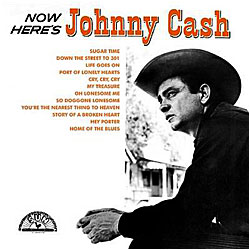 Cover image of Now Here's Johnny Cash