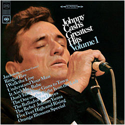 Cover image of Johnny Cash's Greatest Hits 1