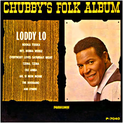 Cover image of Chubby's Folk Album