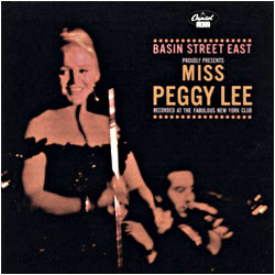 Cover image of Miss Peggy Lee