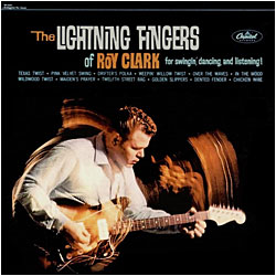 Cover image of The Lightning Fingers Of Roy Clark