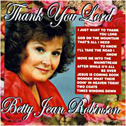 Cover image of Thank You Lord