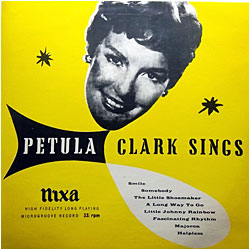 Cover image of Petula Clark Sings
