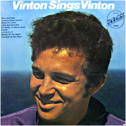 Cover image of Vinton Sings Vinton