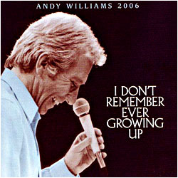 Cover image of I Don't Remember Ever Growing Up