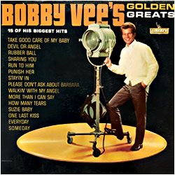 Cover image of Bobby Vee's Golden Greats
