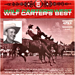 Cover image of Wilf Carter's West Wilf Carter's Best