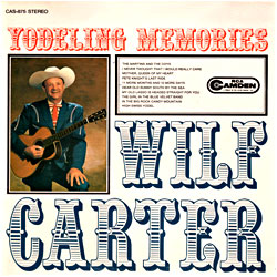 Cover image of Yodelling Memories