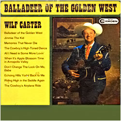 Cover image of Balladeer Of The Golden West