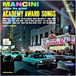 Academy Award Songs - image of cover