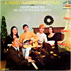 A Merry Mancini Christmas - image of cover