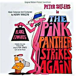 Cover image of The Pink Panther Strikes Again