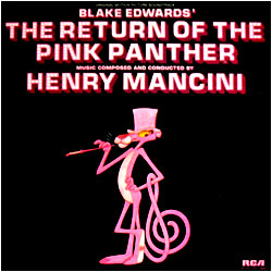 Cover image of The Return Of The Pink Panther