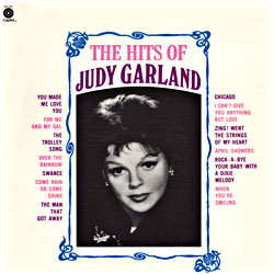 Cover image of The Hits Of Judy Garland