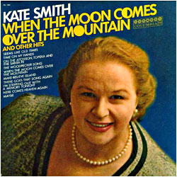 Cover image of When The Moon Comes Over The Mountain