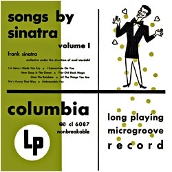 Cover image of Songs By Sinatra