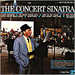 Cover image of The Concert Sinatra