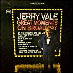 Cover image of Great Moments On Broadway