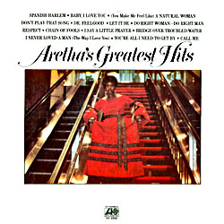 Cover image of Aretha's Greatest Hits