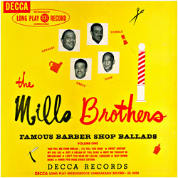 Cover image of Famous Barber Shop Ballads 1