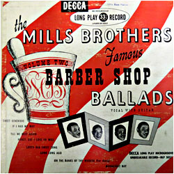 Cover image of Famous Barber Shop Ballads 2