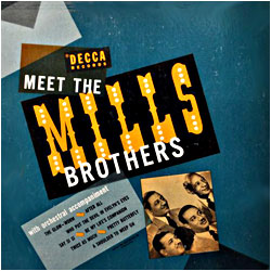 Cover image of Meet The Mills Brothers