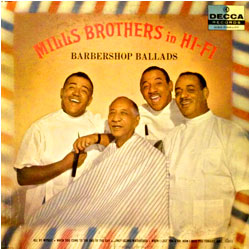 Cover image of Mills Brothers In Hi-Fi