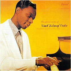 Cover image of The Piano Style Of Nat King Cole