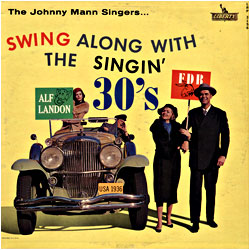 Cover image of Swing Along With The Singin' 30's