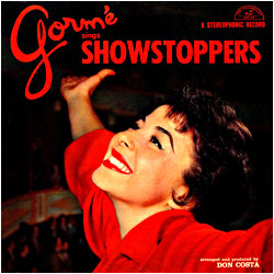 Cover image of Gorme Sings Showstoppers