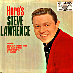 Cover image of Here's Steve Lawrence