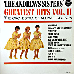 Image of random cover of Andrews Sisters