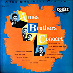 Cover image of Ames Brothers Concert