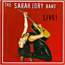 Cover image of The Sarah Jory Band Live