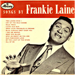 Cover image of Songs By Frankie Laine