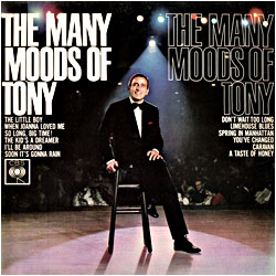 Cover image of The Many Moods Of Tony