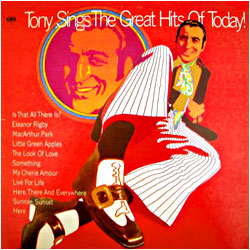 Cover image of Tony Sings The Great Hits Of Today