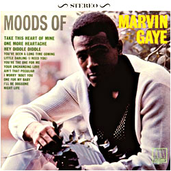 Cover image of Moods Of Marvin Gaye