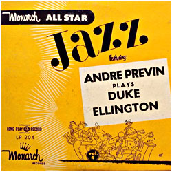 Cover image of Plays Duke Ellington