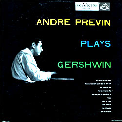 Cover image of Andre Previn Plays Gershwin