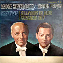 Cover image of Rhapsody In Blue / Concerto In F