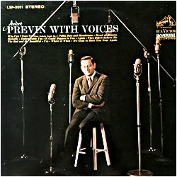 Cover image of Previn With Voices