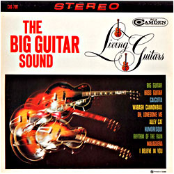 Cover image of The Big Guitar Sound