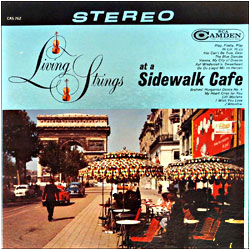 Cover image of At A Sidewalk Cafe