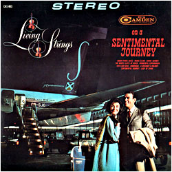 Cover image of On A Sentimental Journey