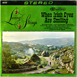Cover image of When Irish Eyes Are Smiling